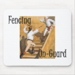 TOP Fencing On-Guard Mouse Pad