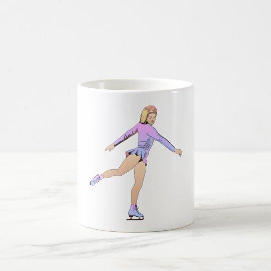 TOP Figure Skating Girl Coffee Mug