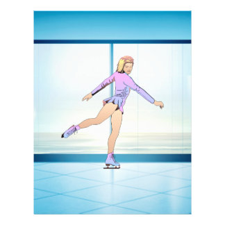 TOP Figure Skating Girl Flyer