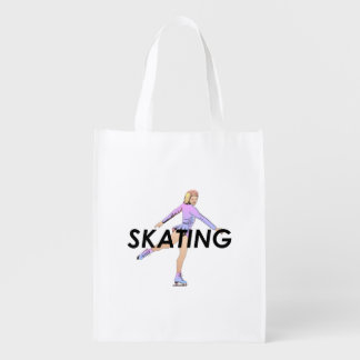 TOP Figure Skating Girl Market Tote
