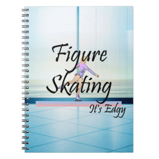 TOP Figure Skating It's Edgy Notebook