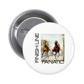 TOP Finish Line Fanatic Pinback Button