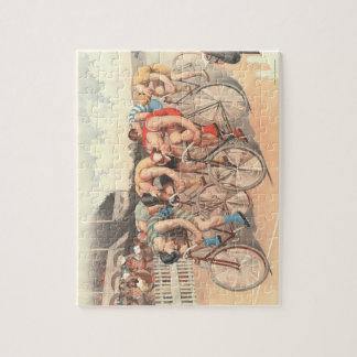 TOP Finish Line Jigsaw Puzzle