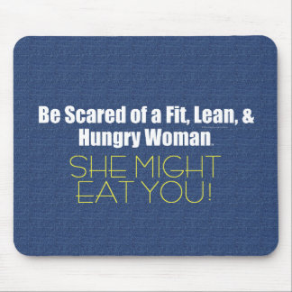TOP Fit Lean Hungry Mouse Pad