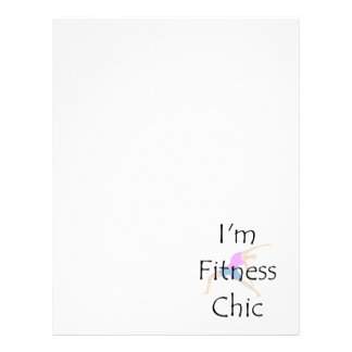 """TOP Fitness Chic 8.5"""" X 11"""" Flyer"""