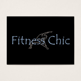 TOP Fitness Chic Business Card