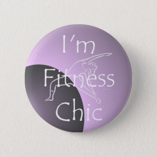 TOP Fitness Chic Button