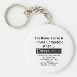 TOP Fitness Competitor Keychain