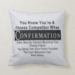 TOP Fitness Competitor Pillows