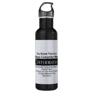 TOP Fitness Competitor Water Bottle