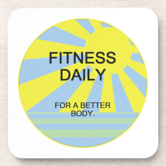 TOP Fitness Daily Beverage Coaster