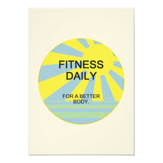 TOP Fitness Daily Card