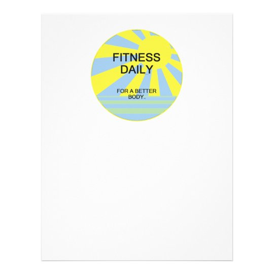 Fitness Daily Stationery