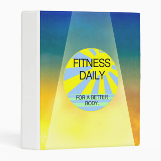 TOP Fitness Daily Mini Binder