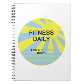 TOP Fitness Daily Notebook