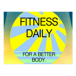 TOP Fitness Daily Postcard