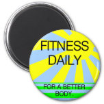 TOP Fitness Daily Refrigerator Magnet