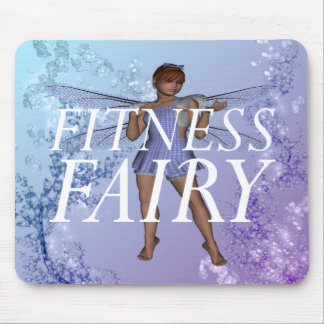 TOP Fitness Fairy Mouse Pad