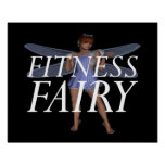 TOP Fitness Fairy Poster