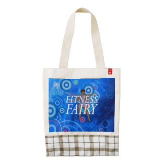TOP Fitness Fairy Zazzle HEART Tote Bag