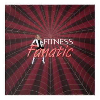 TOP Fitness Fanatic Acrylic Wall Art