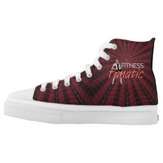 TOP Fitness Fanatic High-Top Sneakers