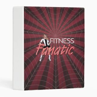 TOP Fitness Fanatic Mini Binder