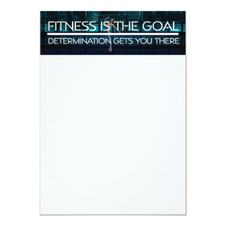 TOP Fitness Goal Card