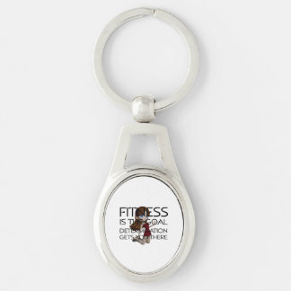 TOP Fitness Goal Keychain