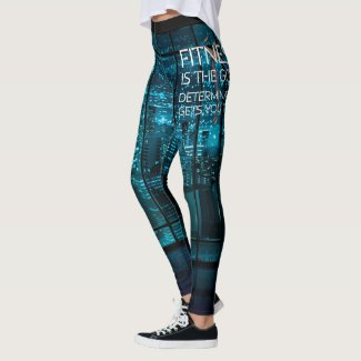 TOP Fitness Goal Leggings