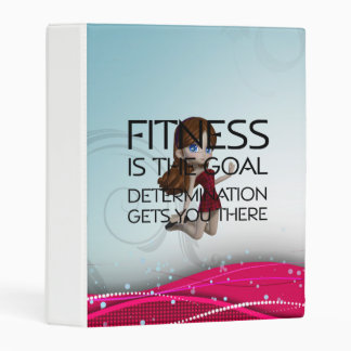 TOP Fitness Goal Mini Binder