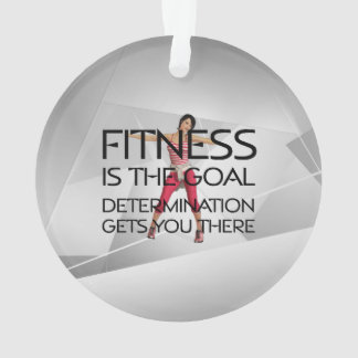 TOP Fitness Goal Ornament