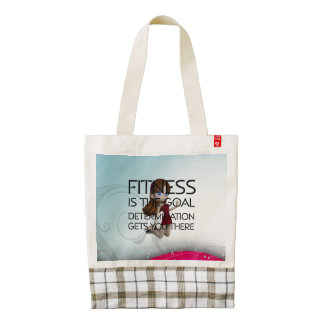 TOP Fitness Goal Zazzle HEART Tote Bag