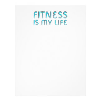 TOP Fitness Is My Life Personalized Flyer