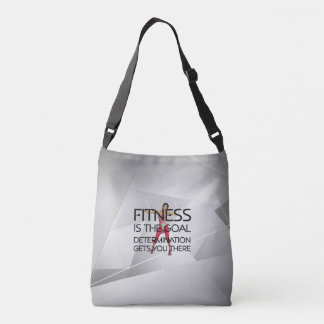 TOP Fitness is the Goal Crossbody Bag