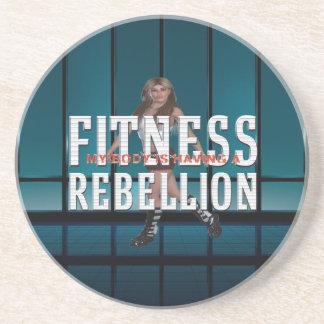 TOP Fitness Rebellion Drink Coaster
