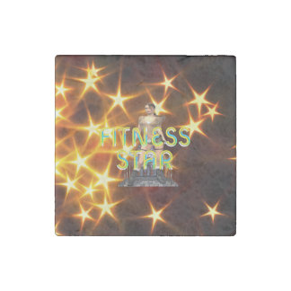 TOP Fitness Star Stone Magnet