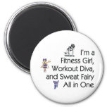 TOP Fitness Triple Play Fridge Magnets