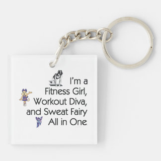 TOP Fitness Triple Play Keychain