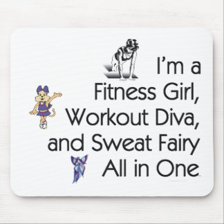 TOP Fitness Triple Play Mouse Pad