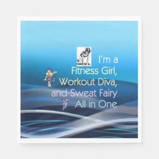 TOP Fitness Triple Play Paper Napkin