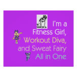 TOP Fitness Triple Play Poster