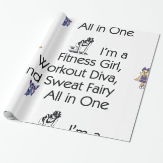 TOP Fitness Triple Play Wrapping Paper