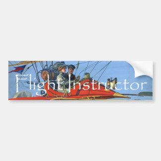TOP Flight Instructor Bumper Sticker