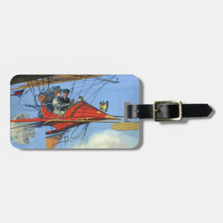 TOP Flight Instructor Luggage Tag