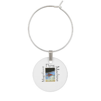 TOP Flight Instructor Wine Glass Charms