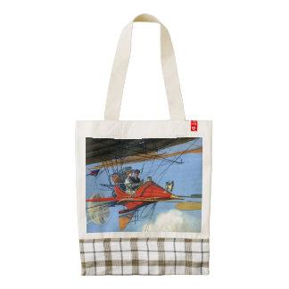 TOP Flight Instructor Zazzle HEART Tote Bag