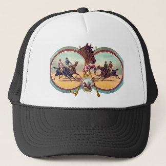 TOP Follow the Race Game Trucker Hat
