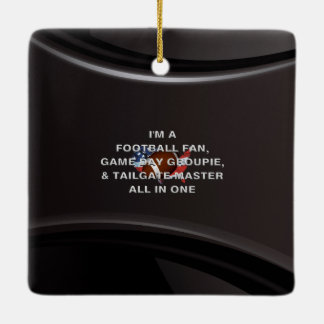 TOP Football All in One Ceramic Ornament