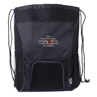 TOP Football All in One Drawstring Backpack